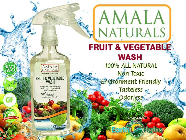 AMALA NATURAL FRUIT & VEGETABLE WASH