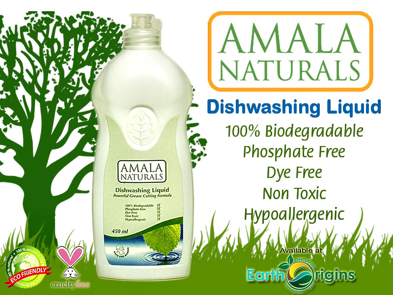Amala Naturals Dishwashing Liquid