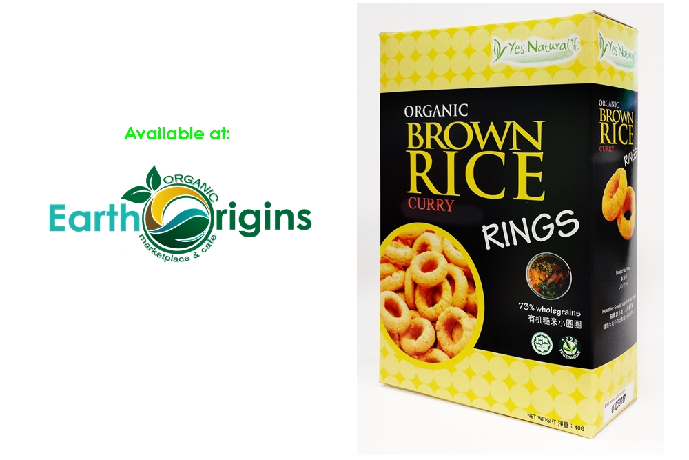 Organic Brown Rice Rings CURRY