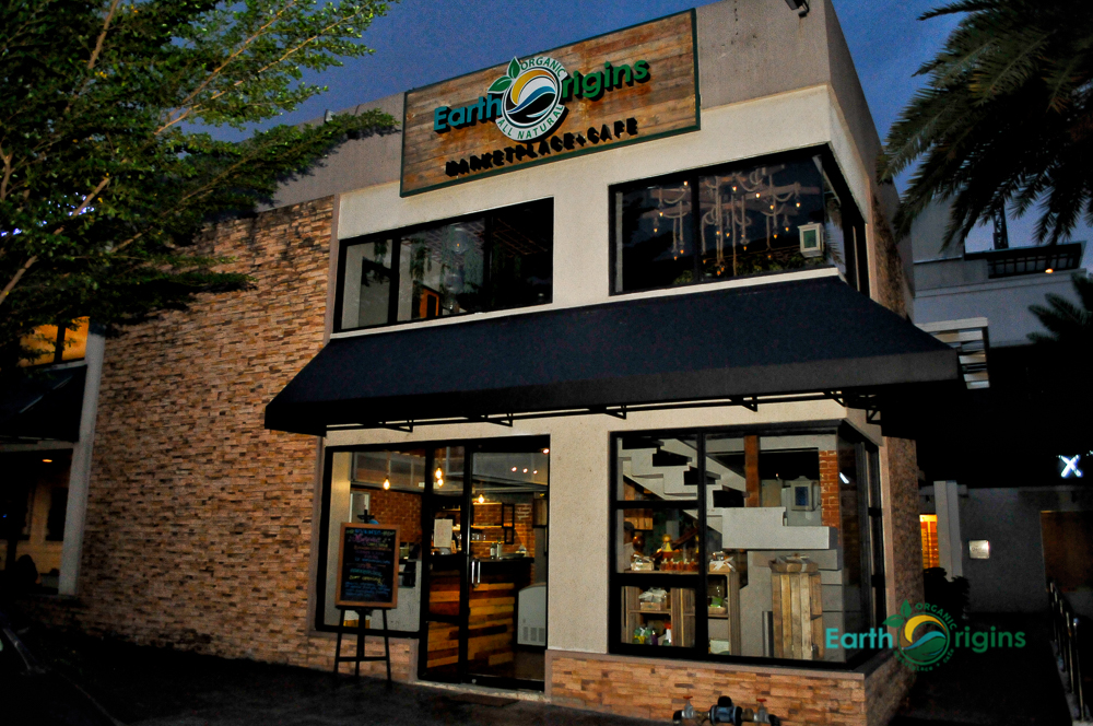 Welcome to EarthOrigins Westgate! A new Organic Marketplace + Cafe in Manila South