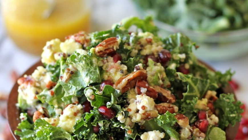 Kale Salad with Lemon Vinaigrette
