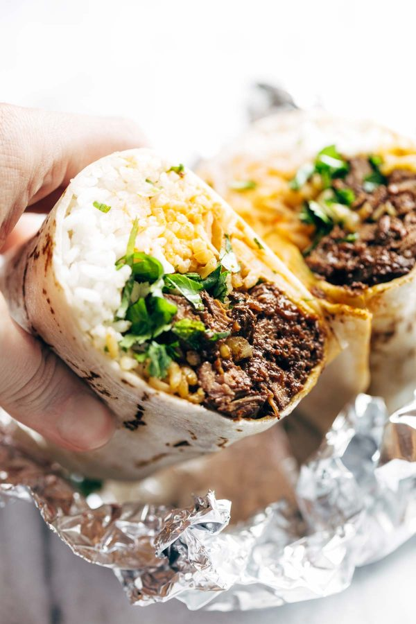 Korean BBQ Bangkok Burrito