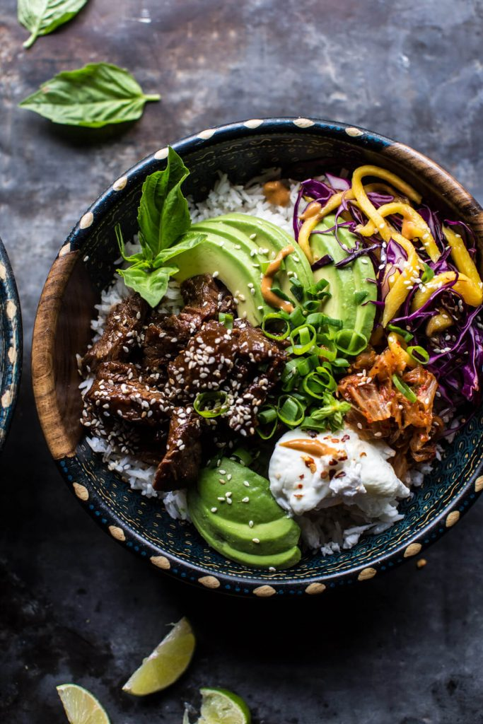 Korean Bulgogi BBQ Bowls