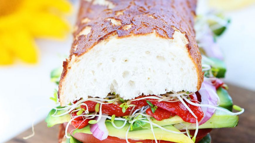 Ultimate Veggie Sandwich
