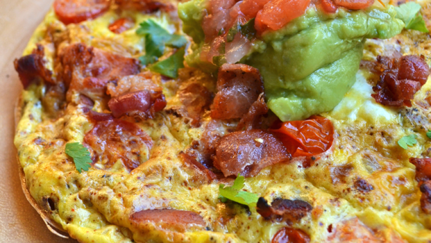 Bacon Taco Frittata