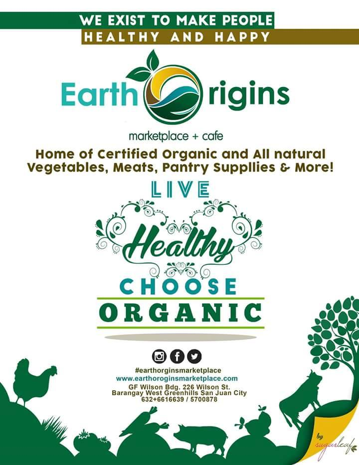 Live Healthy, Choose Organic!