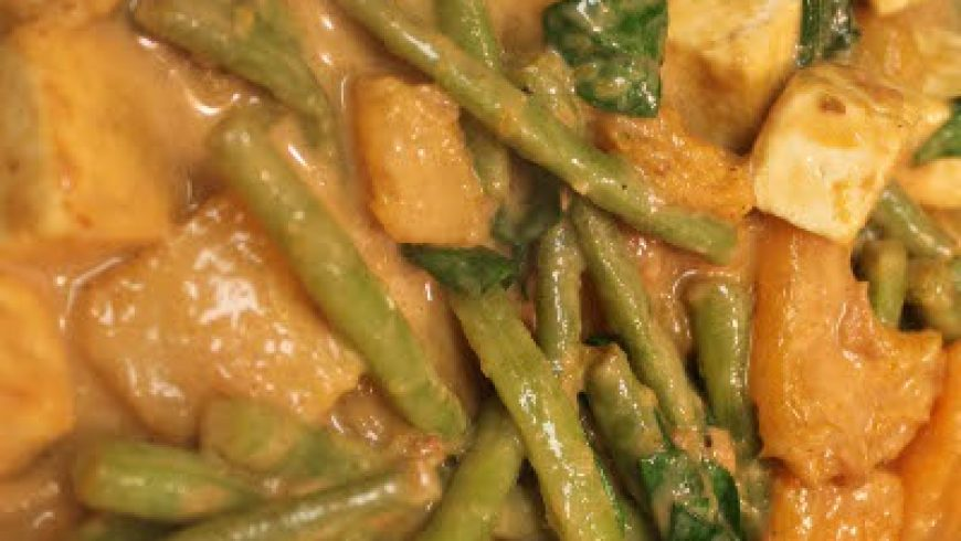 Pork Ginataan with Squash and String Beans